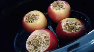 Inside Out Stuffed Crockpot Apple Crisp for the Family