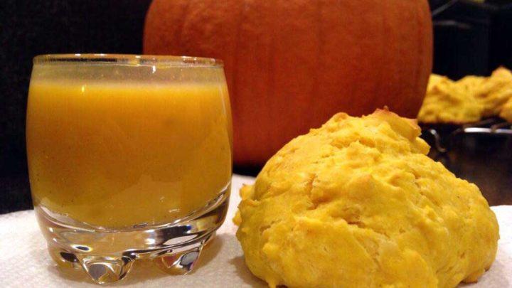 Homemade Pumpkin Drop Biscuits