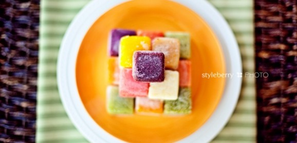 Frozen Baby Food from the Styleberry.com Blog