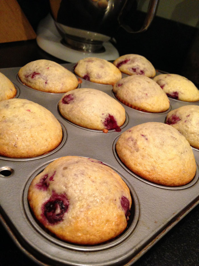 Very Berry Delicious Yogurt Muffins