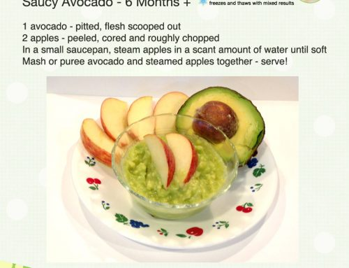 Day 28 – Saucy Avocados – 365 Days of Baby Food