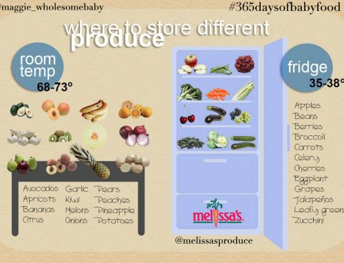 Day 33 – Where to store that beautiful produce – 365 Days of Baby Food